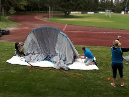 Zeltlager der U11 und U12